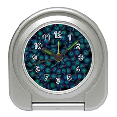 Background Abstract Textile Design Travel Alarm Clocks
