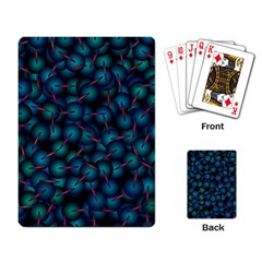 Background Abstract Textile Design Playing Card
