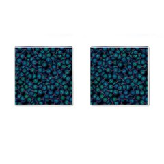 Background Abstract Textile Design Cufflinks (Square)