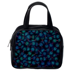 Background Abstract Textile Design Classic Handbags (One Side)