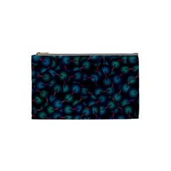 Background Abstract Textile Design Cosmetic Bag (Small)