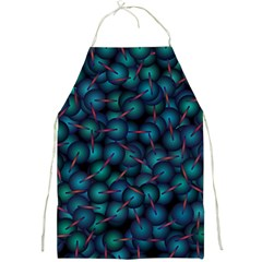 Background Abstract Textile Design Full Print Aprons