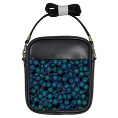 Background Abstract Textile Design Girls Sling Bags