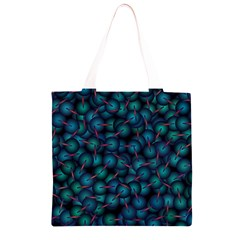 Background Abstract Textile Design Grocery Light Tote Bag