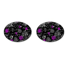 Purple mind Cufflinks (Oval)
