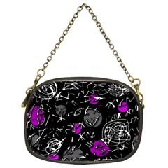 Purple mind Chain Purses (Two Sides)