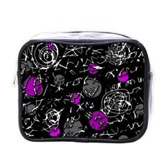 Purple mind Mini Toiletries Bags