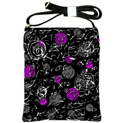 Purple mind Shoulder Sling Bags