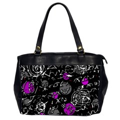 Purple mind Office Handbags (2 Sides)
