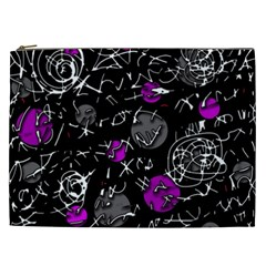 Purple mind Cosmetic Bag (XXL)