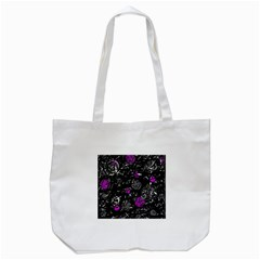 Purple mind Tote Bag (White)