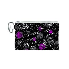 Purple mind Canvas Cosmetic Bag (S)