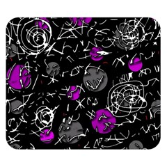 Purple mind Double Sided Flano Blanket (Small)
