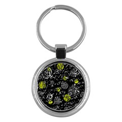 Yellow mind Key Chains (Round)