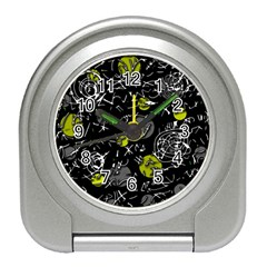 Yellow mind Travel Alarm Clocks