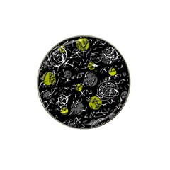 Yellow mind Hat Clip Ball Marker (4 pack)
