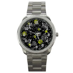 Yellow mind Sport Metal Watch