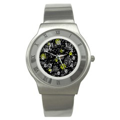 Yellow mind Stainless Steel Watch