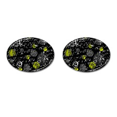 Yellow mind Cufflinks (Oval)