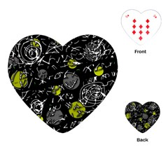 Yellow mind Playing Cards (Heart)