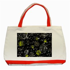 Yellow mind Classic Tote Bag (Red)