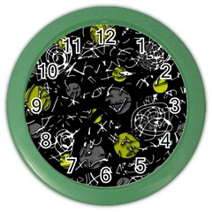 Yellow mind Color Wall Clocks