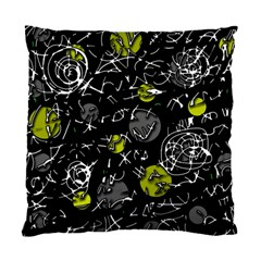 Yellow mind Standard Cushion Case (Two Sides)