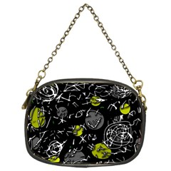 Yellow mind Chain Purses (Two Sides)