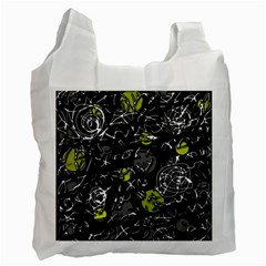 Yellow mind Recycle Bag (One Side)