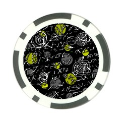 Yellow mind Poker Chip Card Guards (10 pack)