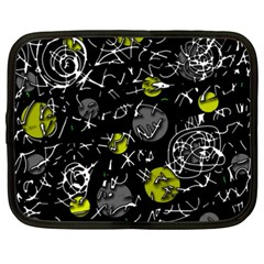 Yellow mind Netbook Case (XXL)
