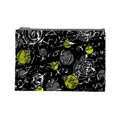 Yellow mind Cosmetic Bag (Large)