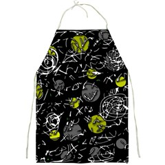 Yellow mind Full Print Aprons