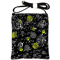 Yellow mind Shoulder Sling Bags