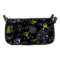 Yellow mind Shoulder Clutch Bags