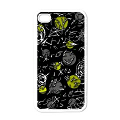 Yellow mind Apple iPhone 4 Case (White)