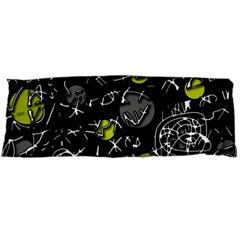 Yellow mind Body Pillow Case (Dakimakura)