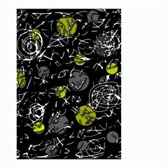 Yellow mind Small Garden Flag (Two Sides)