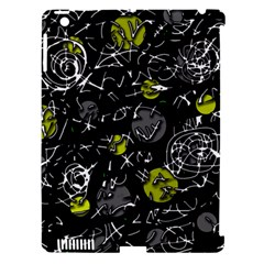 Yellow mind Apple iPad 3/4 Hardshell Case (Compatible with Smart Cover)