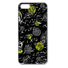 Yellow mind Apple Seamless iPhone 5 Case (Clear)