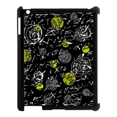 Yellow mind Apple iPad 3/4 Case (Black)