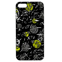 Yellow mind Apple iPhone 5 Hardshell Case with Stand