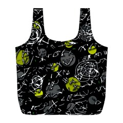 Yellow mind Full Print Recycle Bags (L)