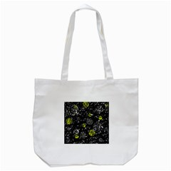 Yellow mind Tote Bag (White)