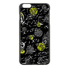 Yellow mind Apple iPhone 6 Plus/6S Plus Black Enamel Case