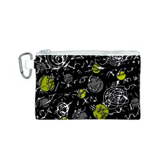 Yellow mind Canvas Cosmetic Bag (S)