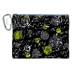 Yellow mind Canvas Cosmetic Bag (XXL)