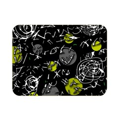 Yellow mind Double Sided Flano Blanket (Mini)