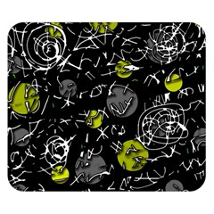 Yellow mind Double Sided Flano Blanket (Small)