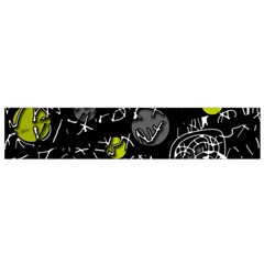 Yellow mind Flano Scarf (Small)